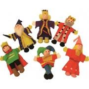 Lėlių ant pirštų rinkinys Karališkoji šeima