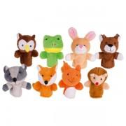 Lėlių ant pirštų rinkinys Miško gyvūnai