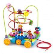 Medinis labirintas-mašinėlė Viga