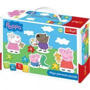 TREFL pirmoji mažylių dėlionė Peppa Pig