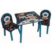 Staliukas su dviem kėdutėmis Kosmosas