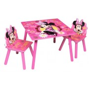 Staliukas su dviem kėdutėmis Minnie