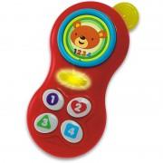 Vaikiškas telefonas su melodijomis