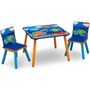 Staliukas su dviem kėdutėmis Ocean