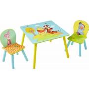 Worlds Apart staliukas su dviem kėdutėmis Mikė