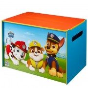 Medinė žaislų dėžė PAW PATROL