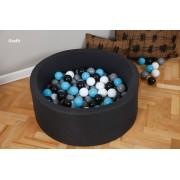 MINI baseinas 90x40 + 200 kamuoliukų