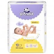 Vaikiški paklotai Panda 60 x 60, 10 vnt.