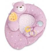 CHICCO muzikinė kūdikio pagalvė - veiklos centras (pink)