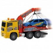 Automobilis vilkikas  su kranu ir mašina  Air Pump 55 cm.