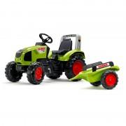 FALK traktorius Claas su priekaba