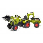 FALK traktorius Claas su priekaba ir kaušais 3-7m
