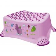 Pagalbinis laiptelis Hippo (violetinis)