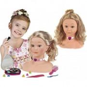 KLEIN lėlės galva šukuosenoms Princess Coralie 33 cm.