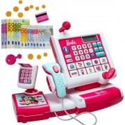 KLEIN vaikiškas elektroninis kasos aparatas Barbie
