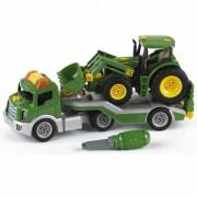 KLEIN vilkikas su traktoriumi varžymui John Deere
