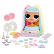 L.O.L. Suprise OMG lėlės galva šukavimui Candylicious