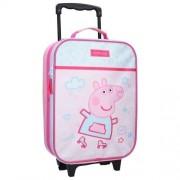 Vaikiškas lagaminas su ratukais Peppa
