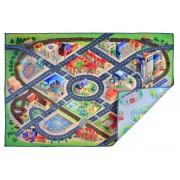 Dvipusis žaidimų kilimėlis Miesto keliai ir gatvės