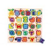 MedinIų raidelių dėlionė ABC