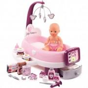 SMOBY Baby Nurse priežiūros rinkinys + lėlė