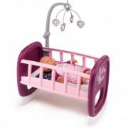 SMOBY supama lovytė su karusele lėlėms Baby Nurse