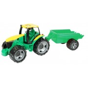 Traktorius su priekaba 90 cm.