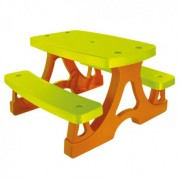 Lauko pikniko stalas su suolais
