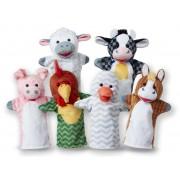 Pliušiniai lėlių teatro personažai FERMA 6 vnt.