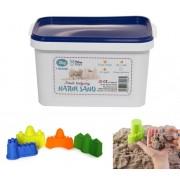 Kinetinis smėlis Natur Sand su formelėmis 2 kg.