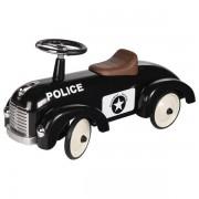 Retro stiliaus paspirtukas su gumuotais ratais Police