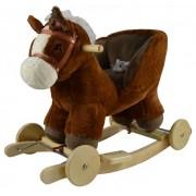 Supamas arkliukas su lingėmis ir ratukais