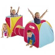 Vaikiškos palapinės su tuneliu