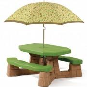 STEP2 iškylų stalas su skėčiu