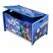 Medinė žaislų dėžė Toy Story