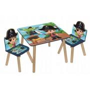 Staliukas su dviem kėdutėmis Piratai