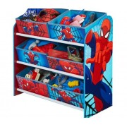 Žaislų lentyna su daiktadėžėmis SpiderMan