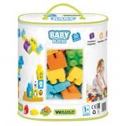 WADER Baby kaladėlės 30 el. su krepšiu