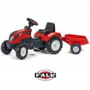 FALK traktorius RANCH su priekaba 2-5m.