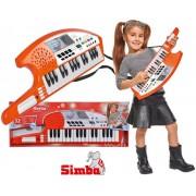 SIMBA vaikiška klavišinė gitara Keytaras