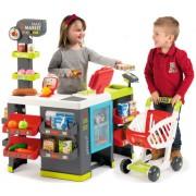 SMOBY vaikiška parduotuvė Maxi market su 50 priedų