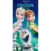 Vaikiškas rankšluostis Frozen 70x140 cm.