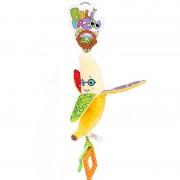 Minkštas pliušinis barškutis/kramtukas Bananas