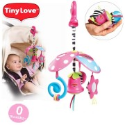 TINY LOVE pakabinamas barškutis ant vežimėlio Pack&Go Mini Mobile Princess