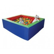 Žaidimų baseinas 150 x 150 x 50 cm (+ 1500 kamuoliukų)