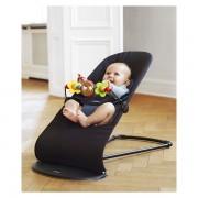 BABYBJORN gultukas Balance Soft Black/Dark Grey + medinis žaislas