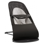 BABYBJORN gultukas Bouncer Balance Soft MESH Black/Grey