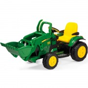 PEG PEREGO traktorius John Deere Ground Loader 12V