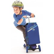 Paspirtukas Glider To Go Yvolution su kuprine (Blue)