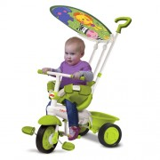 FISHER PRICE triratukas Classic Plus Green 3in1